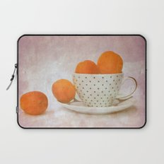 a cup full of apricots Laptop Sleeve