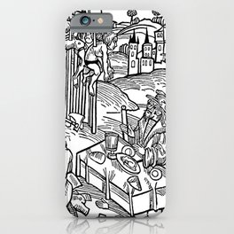 Vlad the Impaler and his victims iPhone Case