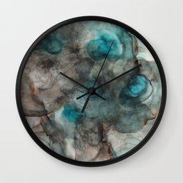 Ink 2 Wall Clock