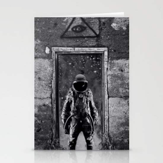 The man from earth Stationery Cards