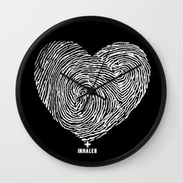 heartprint Wall Clock
