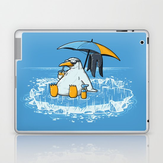 GLOBAL WARMING PROBLEM Laptop & iPad Skin