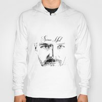 neil gaiman Hoodies featuring Simon Neil - Biffy Clyro  by McFREE