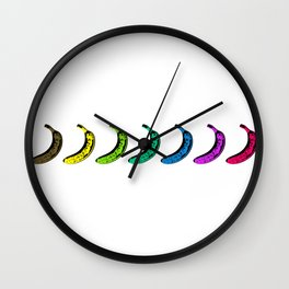 Smooth Fruit with taste of Banana Wall Clock
