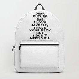 DEAR FUTURE BAE Backpack