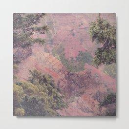 Between the Trees - Kauai, Hawaii Metal Print