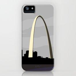 Gateway Arch Modern Architecture iPhone Case