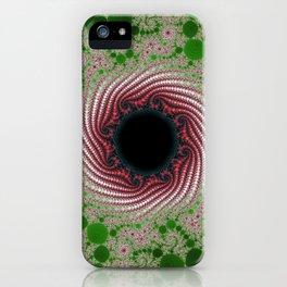Fractal Porthole iPhone Case