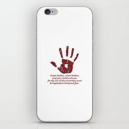 Dark Brotherhood iPhone Skin