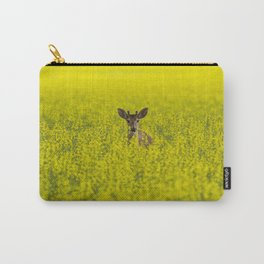 Buck in Canola Carry-All Pouch