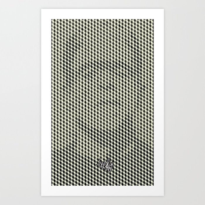 What do you see Dr. Frankenstein? Art Print