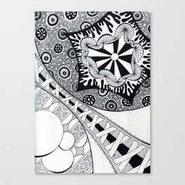 The Rising Insanity Canvas Print
