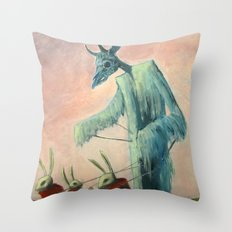 The Commencement Throw Pillow