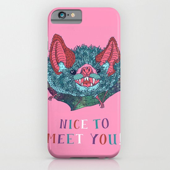 Nice to Meet You! iPhone & iPod Case