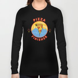Pizza Marathon Finisher Long Sleeve T-shirt