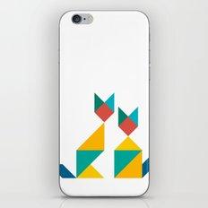 Tangram Cats 1 iPhone & iPod Skin