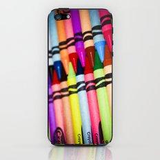 Rainbow of Crayons iPhone & iPod Skin