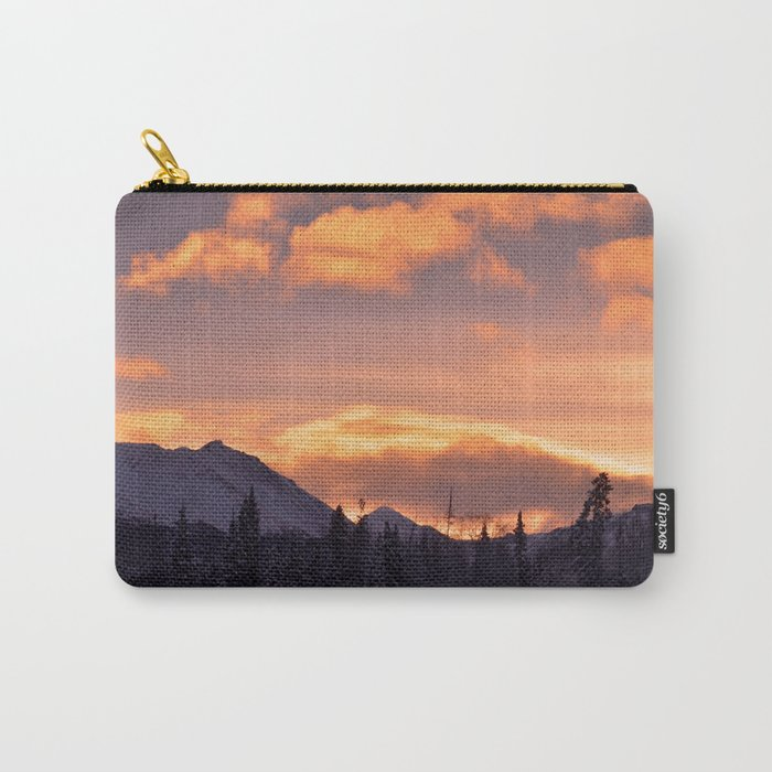 Flat Top Sunrise Carry-All Pouch