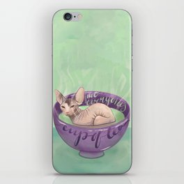 Not Everyone's Cup Of Tea - Sphynx Cat - Part 4 iPhone Skin