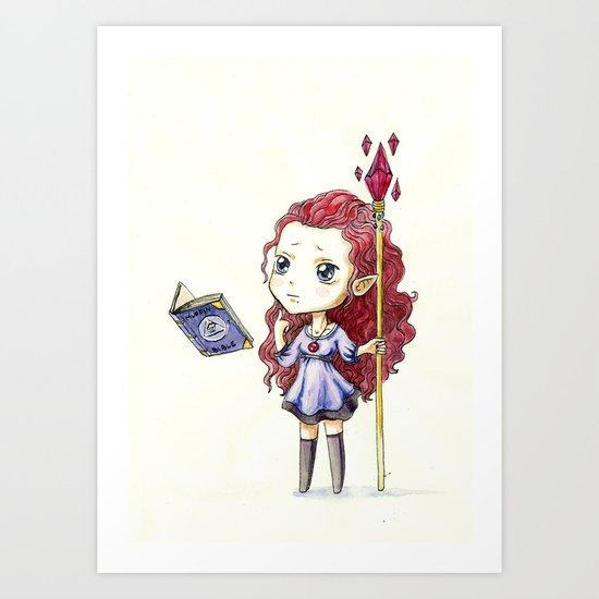 Magic Muffin Art Print