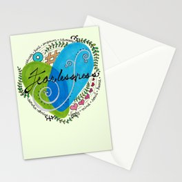 Fearlessness Stationery Cards