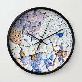 Textured peeling paint  Wall Clock