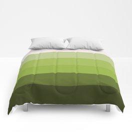 Eggshell Seedling Ombre Comforters