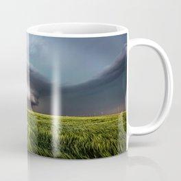 Leoti's Masterpiece - Incredible Storm in Western Kansas Coffee Mug