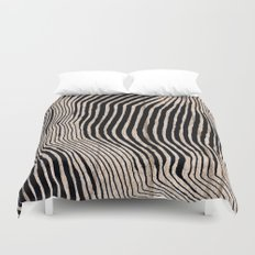 it's waving calligraphy Duvet Cover