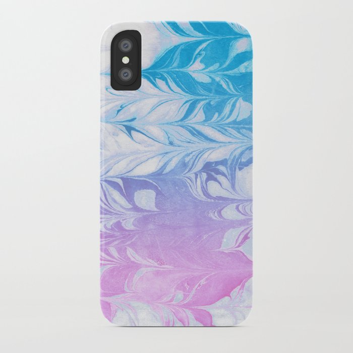 uk availability 3edeb 353df Nanaha - spilled ink abstract painting watercolor water marble marbled cell  phone case japanese iPhone Case by spilledink