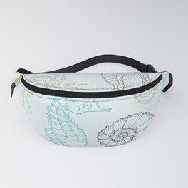 Underwater pattern Fanny Pack