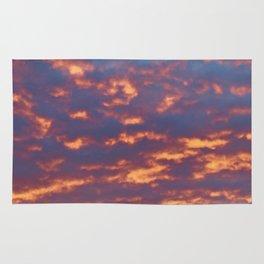 Golden Clouds Rug
