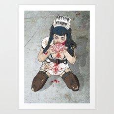 Brainssssss Art Print