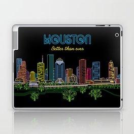 Houston Better Than Ever Circuit Laptop & iPad Skin
