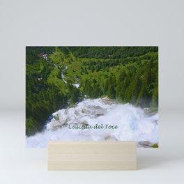 Over the Rushing Waters Mini Art Print