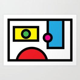 No. 3 Art Print