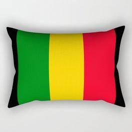Rastafari Colors Rectangular Pillow