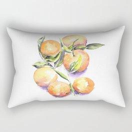 Sweet Clementines Rectangular Pillow