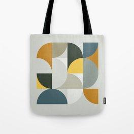 Mid Century Geometric 13 Tote Bag