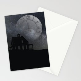 back before midnight Stationery Cards