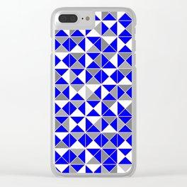 Deco Geo 18 Clear iPhone Case
