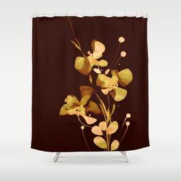 Organic Impressions 334zo by Kathy Morton Stanion Shower Curtain
