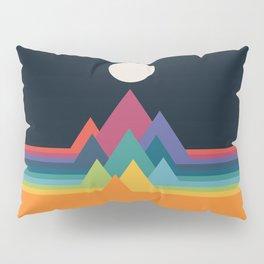 Whimsical Mountains Pillow Sham