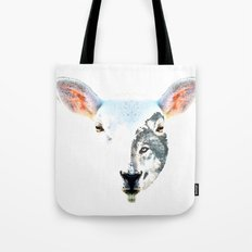 A Wolf In Sheep's Clothing by Sharon Cummings Tote Bag
