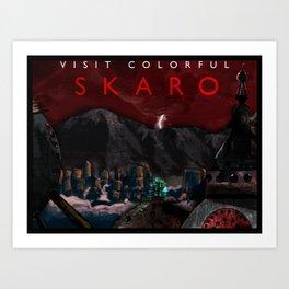 Visit Colorful Skaro Art Print