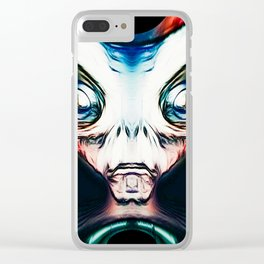 Alien Nation Clear iPhone Case