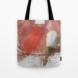 California Sun [2]: a minimal, abstract piece in reds and gold by Alyssa Hamilton Art Tote Bag
