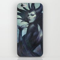 wicked iPhone & iPod Skins featuring Wicked by Artgerm™