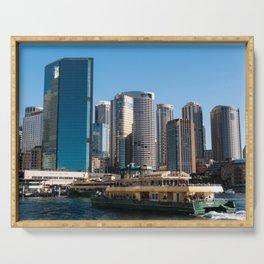 Sydney City Skyline Serving Tray