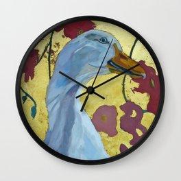 Lucy the Peking Duck Wall Clock